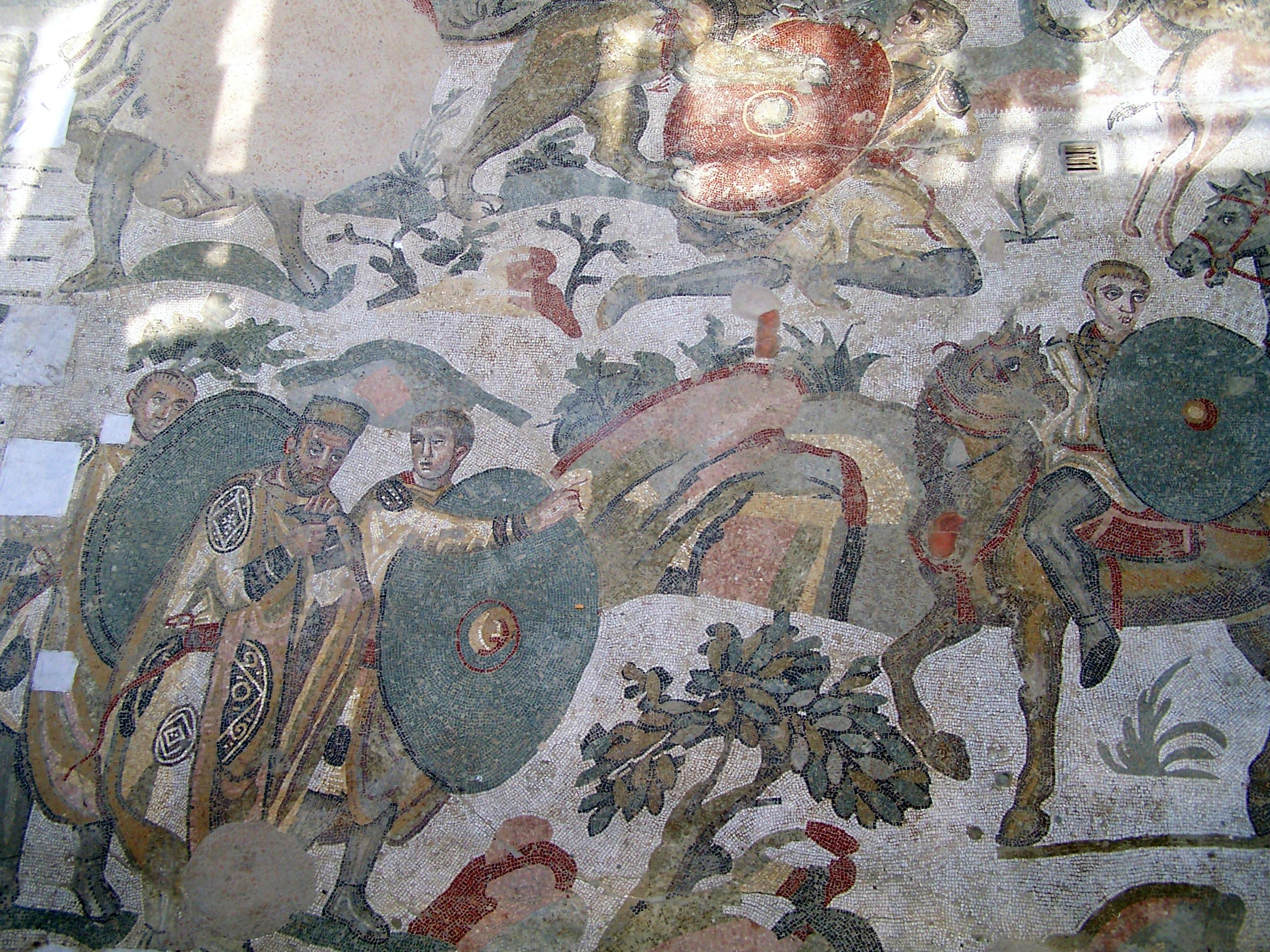 Sicilia_Piazza_Armerina_Villa_romana_del_Casale_mosaico